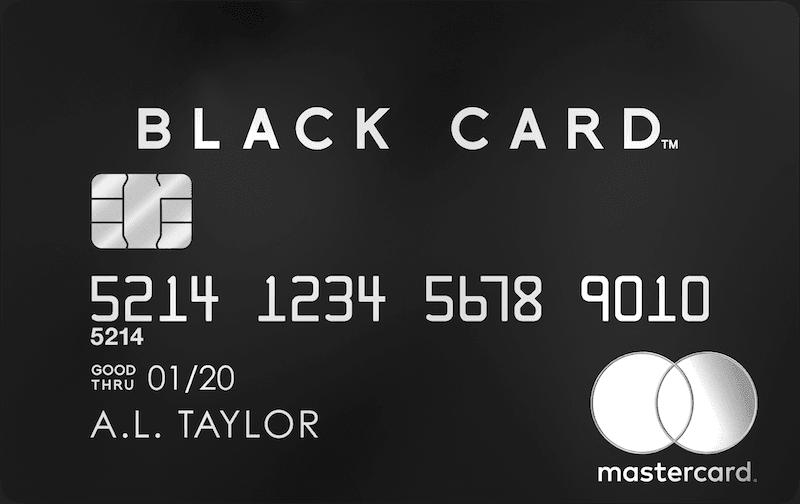 ラグジュアリーカード(Black Card)